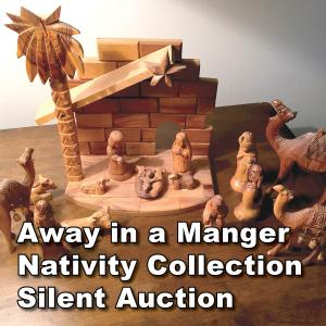 Away in a Manger Nativity Collection Silent Auction